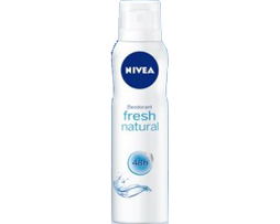 DEO SPRAY NIVEA 150ml FRESH NATURAL