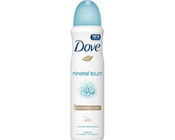 dove mineral touch